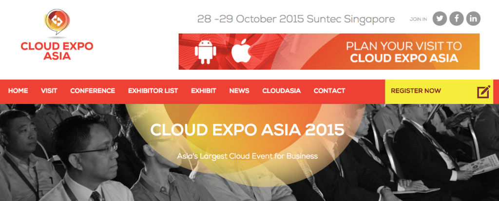 Cloud Expo Asia 2015