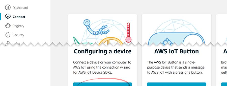 AWS と Azure と Raspberry Pi (ラズパイ) で IoT してみた (2) #raspi #aws #azure