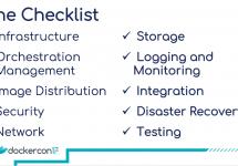 [和訳] エンタープライズ企業向けDocker運用チェックリスト #docker