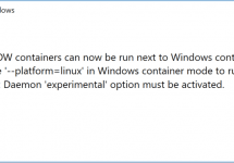 (Japanese text only.) [和訳] Windows 10 Fall Creators UpdateとDocker for Windowsデスクトップ18.02 #docker