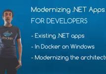 (Japanese text only.) [和訳] ビデオシリーズ: 開発者のための.NETアプリのモダナイゼーション #docker