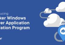 Windows ServerアプリケーションのDockerへの移行プログラムを開始! #docker