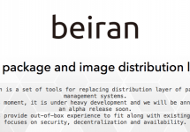 "Creationline and Rainlab Open Source ""Beiran""  #beiran"