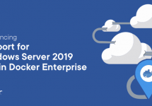 (Japanese text only.) エンタープライズ向けDocker EEがWindows Server 2019をサポート #docker