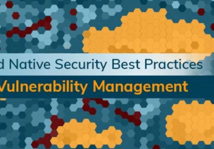 クラウドネイティブセキュリティベストプラクティス:脆弱性管理 #AquaSecurity #セキュリティ #脆弱性管理 #ベストプラクティス