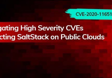 (Japanese text only.) パブリッククラウド上のSaltStackへの深刻なCVEの影響を低減 #AquaSecurity #CVE #CSPM #SaltStack