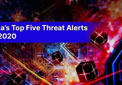 2020年 Aqua 脅威アラート Top5 #aqua #コンテナ #セキュリティ #DTA #動的解析 #コンテナイメージ