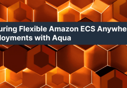Aquaにより柔軟にAmazon ECS Anywhereのデプロイメントを確保 #aqua #コンテナ #セキュリティ #AWS #ECSAnywhere