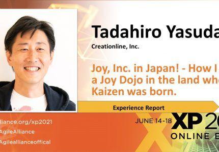 (Japanese text only.) 2021年6月14-18日開催「XP2021」に弊社CEO安田が登壇します #creationline #joyinc #xp2021