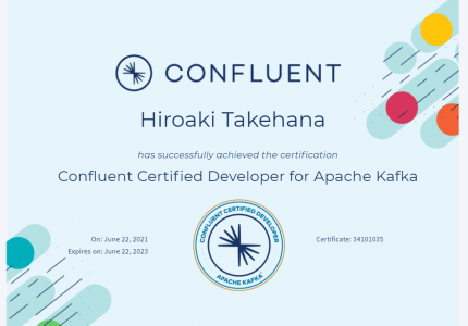(Japanese text only.) 【合格体験記】Confluent Certified Developer for Apache Kafka #Confluent